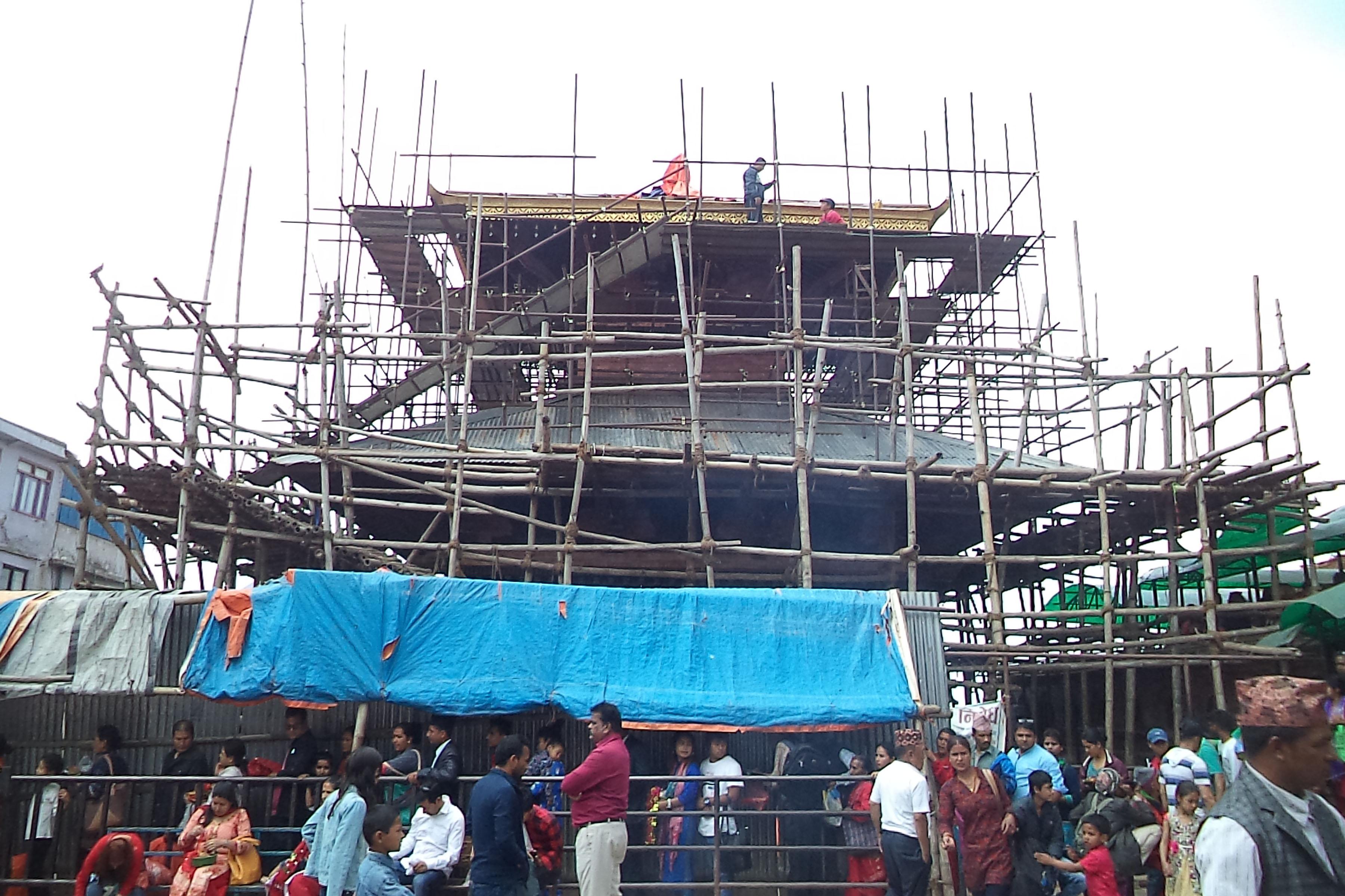 मनकामना मन्दिर पुनःनिर्माणमा १४ करोड खर्च