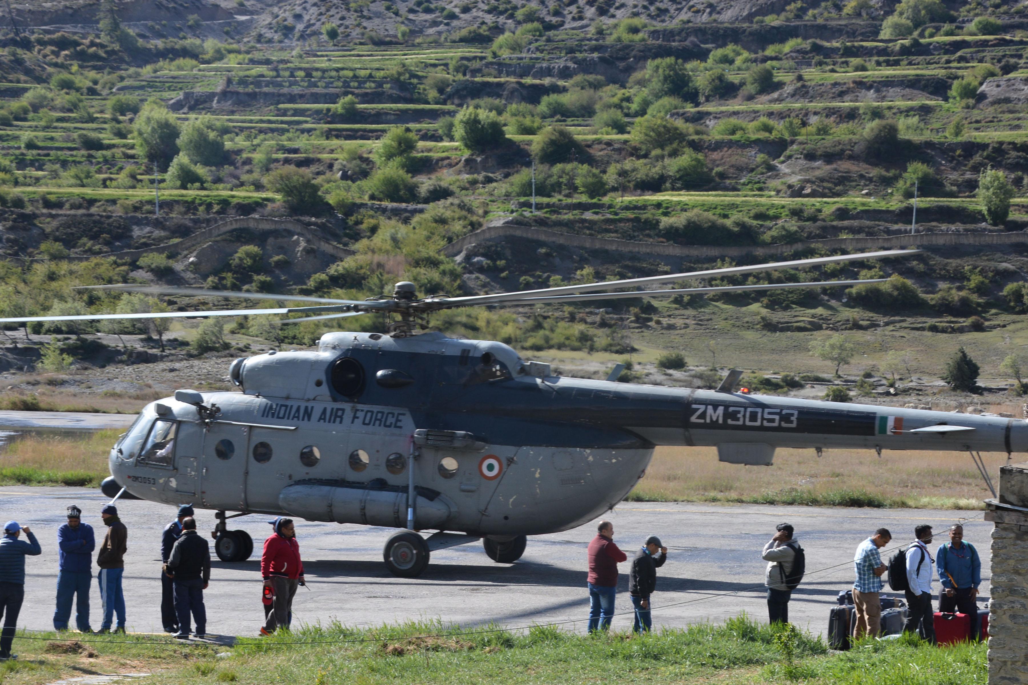 जोमसोम विमानस्थल स्तरोन्नतिको काम तीव्र