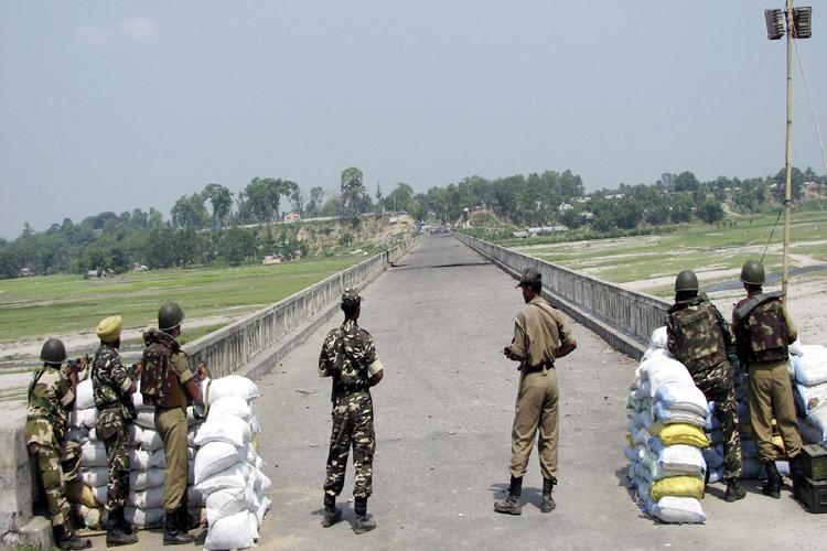 नेपाल–भारतका सुरक्षाकर्मीद्वारा सीमा क्षेत्रमा संयुक्त गस्ती