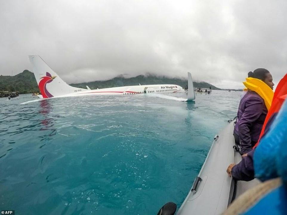 प्रशान्त महासागरमा दुर्घटना हुनुअघिको विमानको भिडियो सार्वजनिक