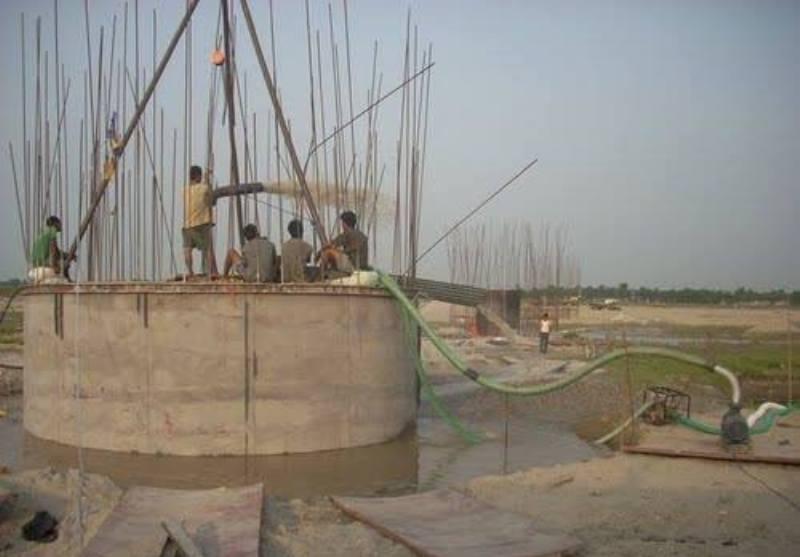 नारायणगढ-मुग्लिन सडक : चार पुलकाे निर्माण कार्य जारी, १४ पुल बाँकी