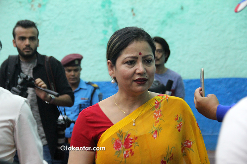 चुनावमा हार्नु जीवन हार्नु होइन :सरिता लामिछाने