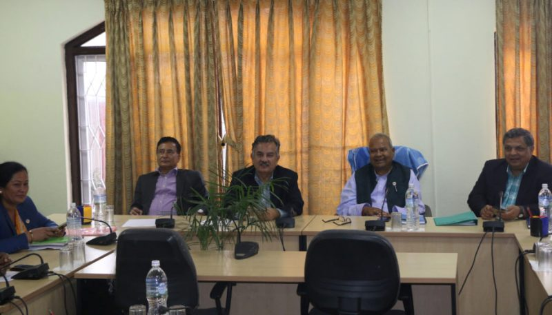 संसदीय सुनुवाइ समितिको बैठक आज