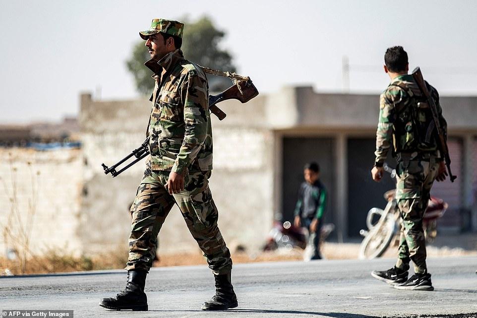सिरिया सरकारले कुर्दहरूसँग गर्यो सम्झौता, टर्कीसँगको सीमा नजिक सैनिक तैनाथ