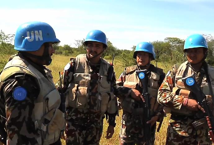 शान्ति सेना थप्न नेपाल तयार