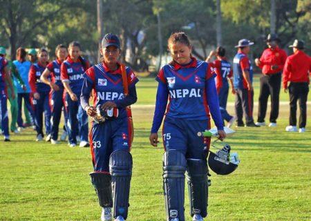 महिला टी–२० क्रिकेट : समूह चरणको अन्तिम खेलमा नेपालले थाइल्याण्डसँग खेल्ने