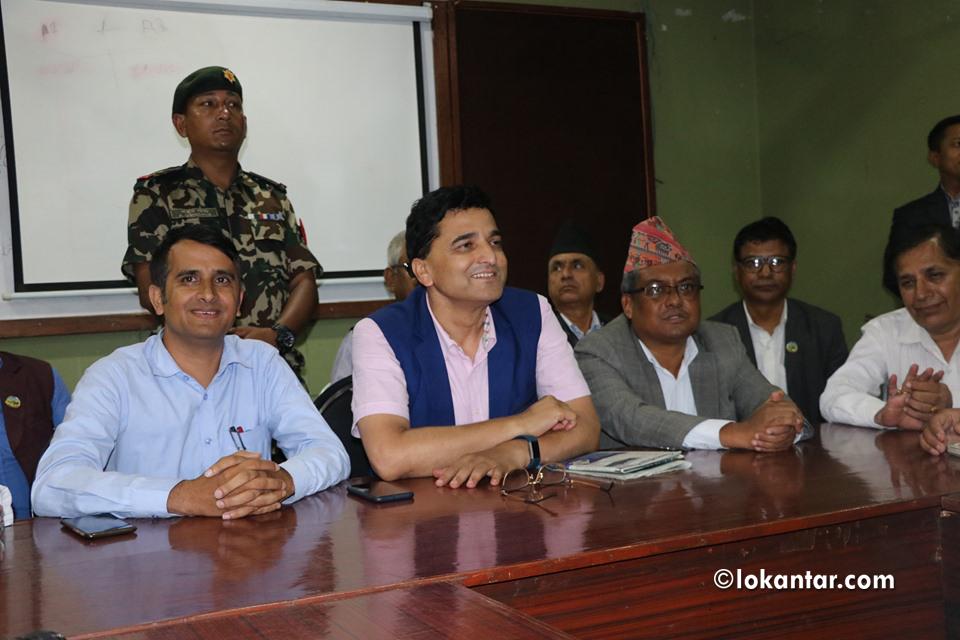 १० लाख जनता उतारेर निजगढ विमानस्थल शिलन्यास गर्छौं - पर्यटनमन्त्री भट्टराई